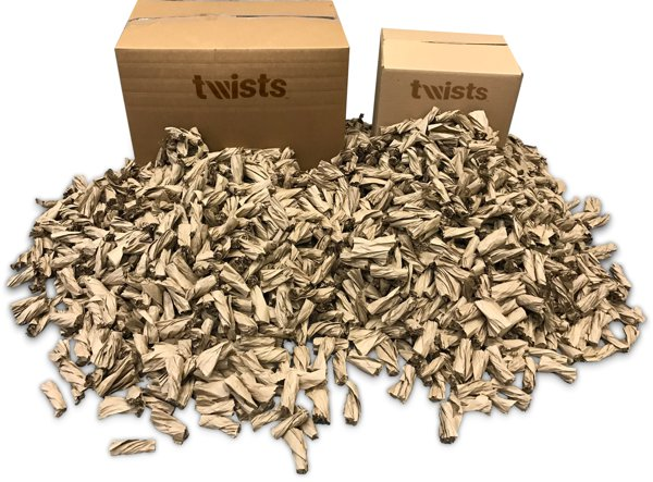 Twists - Sustainable Packing Solution