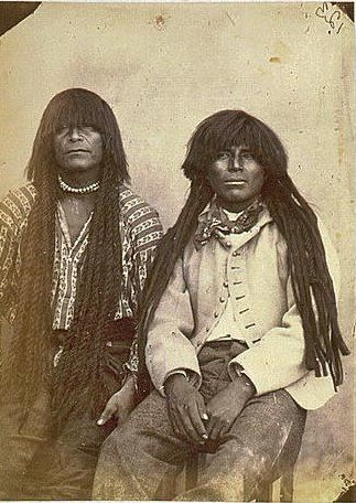 Indigenous Native American women hair
