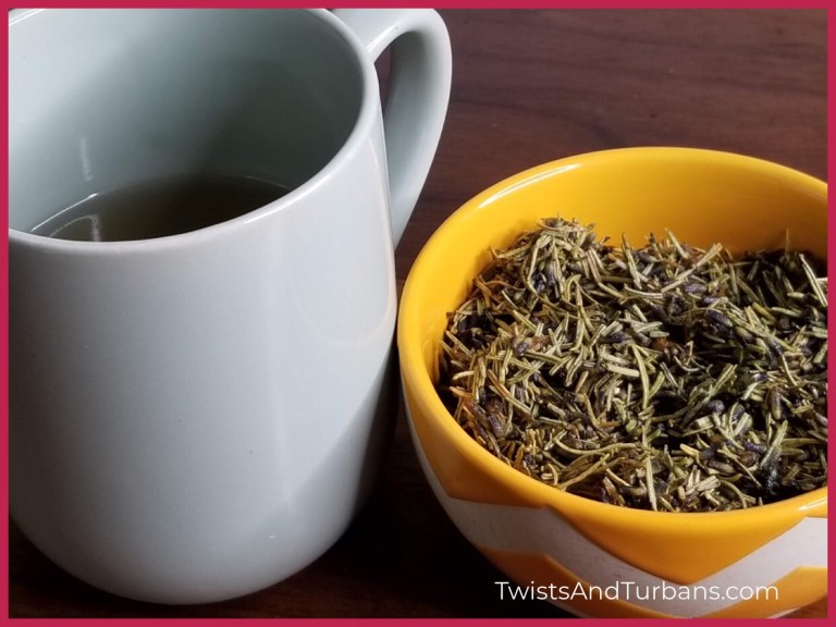 Rosemary Herbal Hair Tea | Natural Hair Rinse