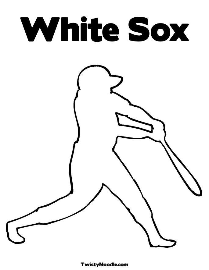 Major League Baseball (MLB) Coloring Pages