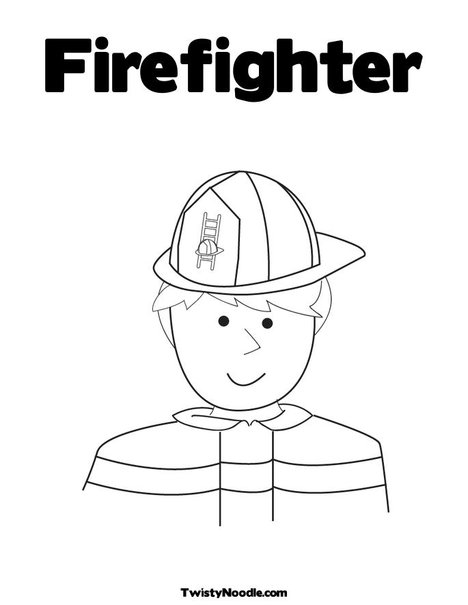 Free coloring pages of school fire drill