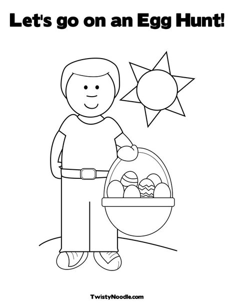 thentetibal: easter eggs in basket coloring pages