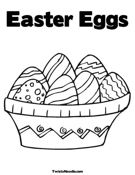 Love Wallpaper: small easter eggs coloring pages