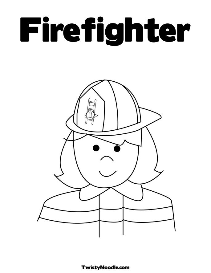 FIRE FIGHTER COLORING BOOK « Free Coloring Pages