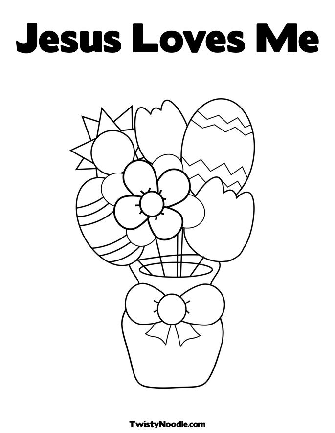 katieyunholmes: coloring pages jesus loves me