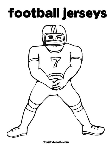 Free coloring pages of uk football