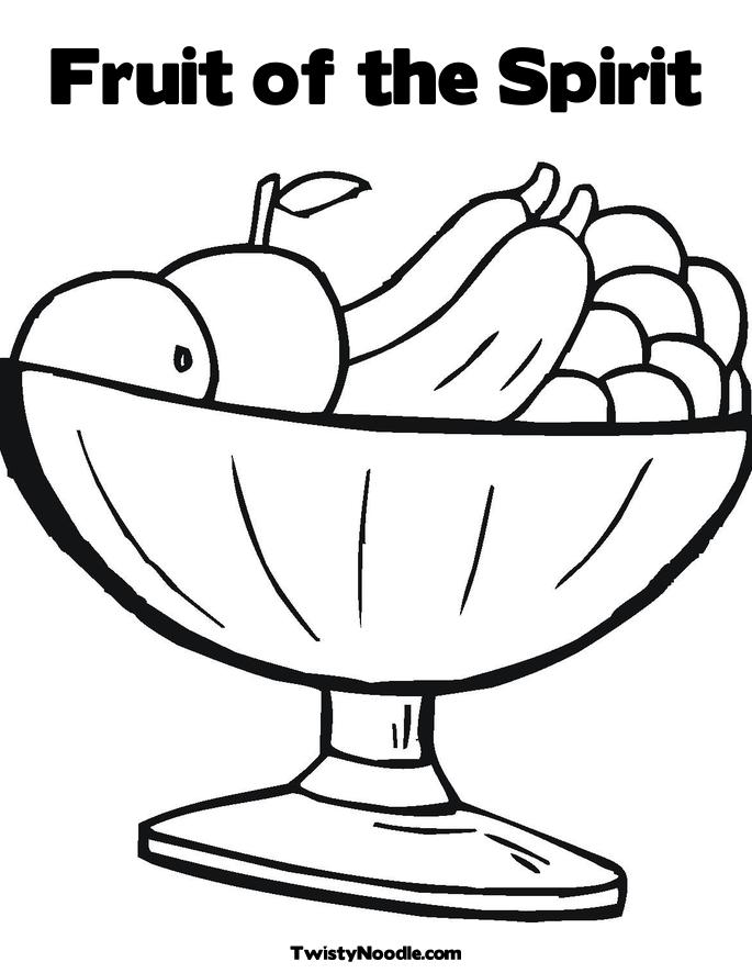 FRUIT OF THE SPIRIT COLORING « Free Coloring Pages
