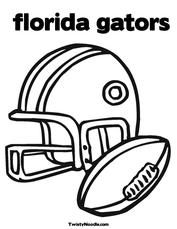 gator head coloring pages