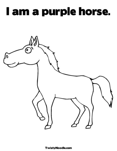 HORSE COLORING BOOKS « Free Coloring Pages