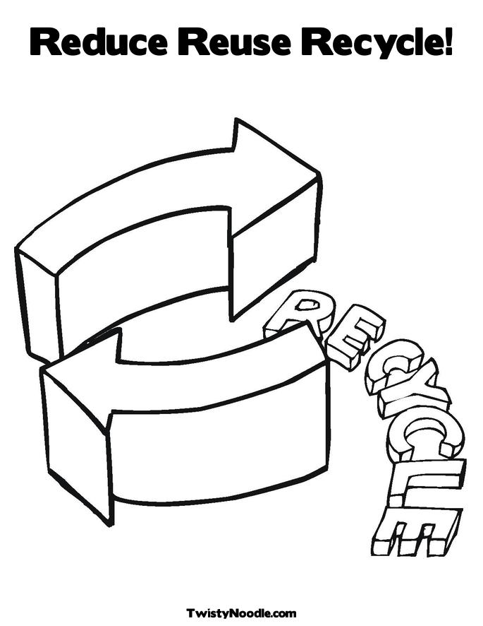 Glass Recycling Bin Coloring Page