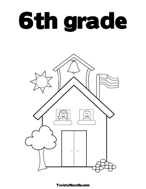 6th grade coloring pages_Computer Technology 7th Grade