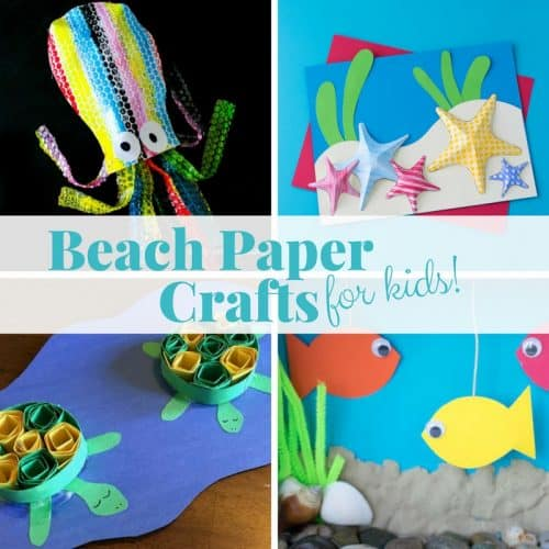 If you've ever visited arts & crafts events, there is no way you've failed to witness the beauty in the craft. 17 Easy Beach Paper Crafts For Your Kids To Make This Summer Twitchetts
