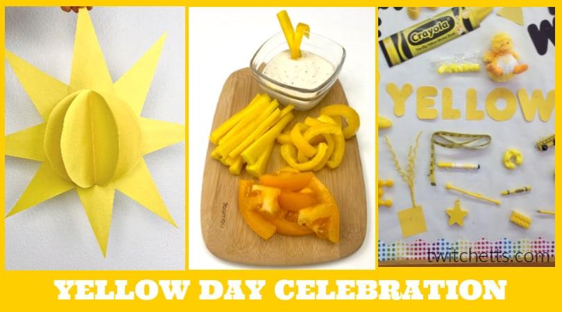 Ideas For A Yellow Day Celebration In Preschool Twitchetts