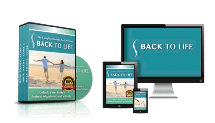 Back To Life's Complete Healthy Back System Review