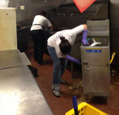 Commercial Restaurant Cleaning Service in Dallas 2 Restaurant Cleaning Service