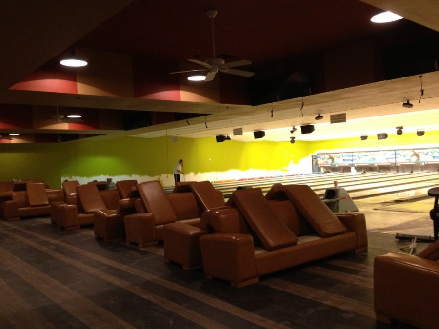 Post construction Cleaning Service at Sports Grill & Bowling Alley Center in Greenville, Texas