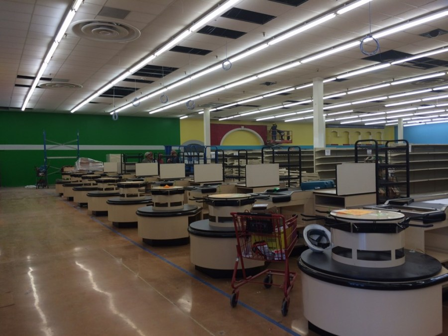 """El Rancho"" Grocery Store Post Construction Cleaning Service in Farmers Branch, Texas"