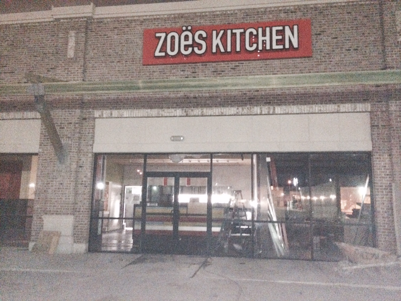 Zoes Kitchen Houston TX Final Post Construction Clean Up