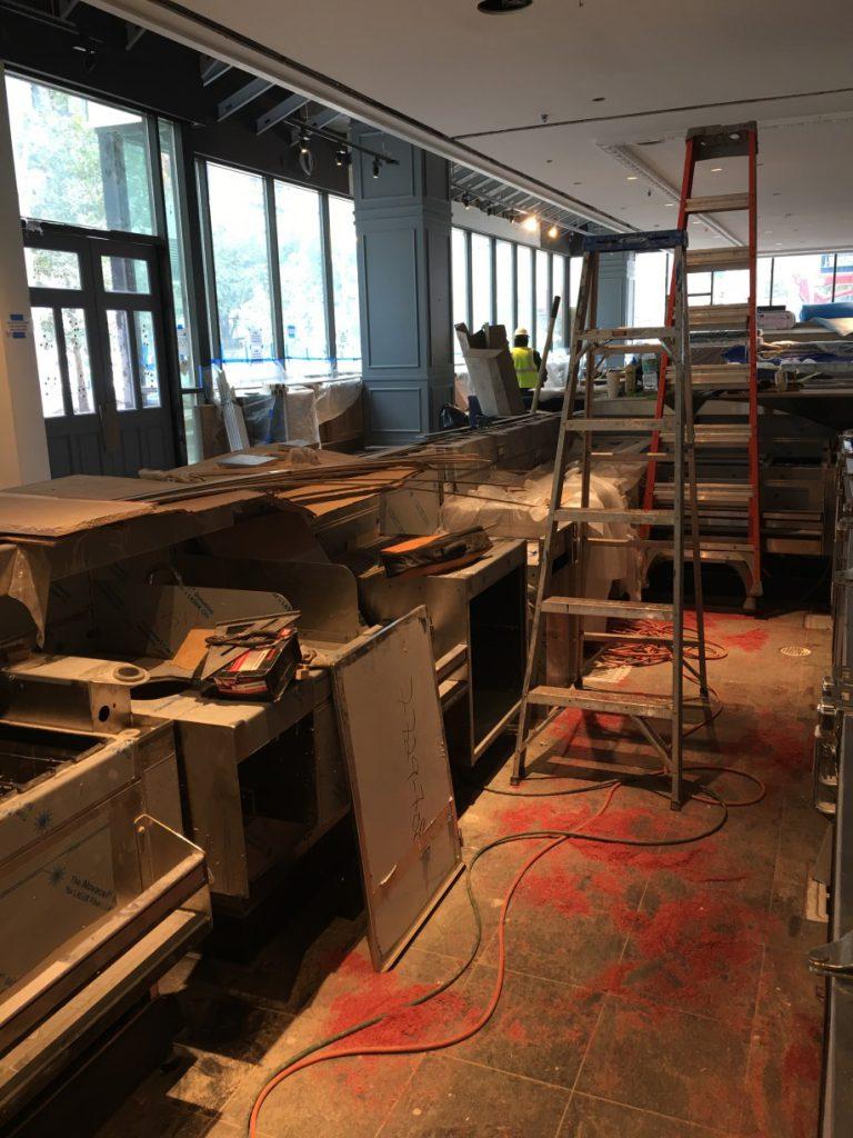 The Henry Restaurant Rough Post Construction Cleaning in Dallas TX 001 768x1024 The Henry Restaurant Rough Post Construction Cleaning in Dallas, TX
