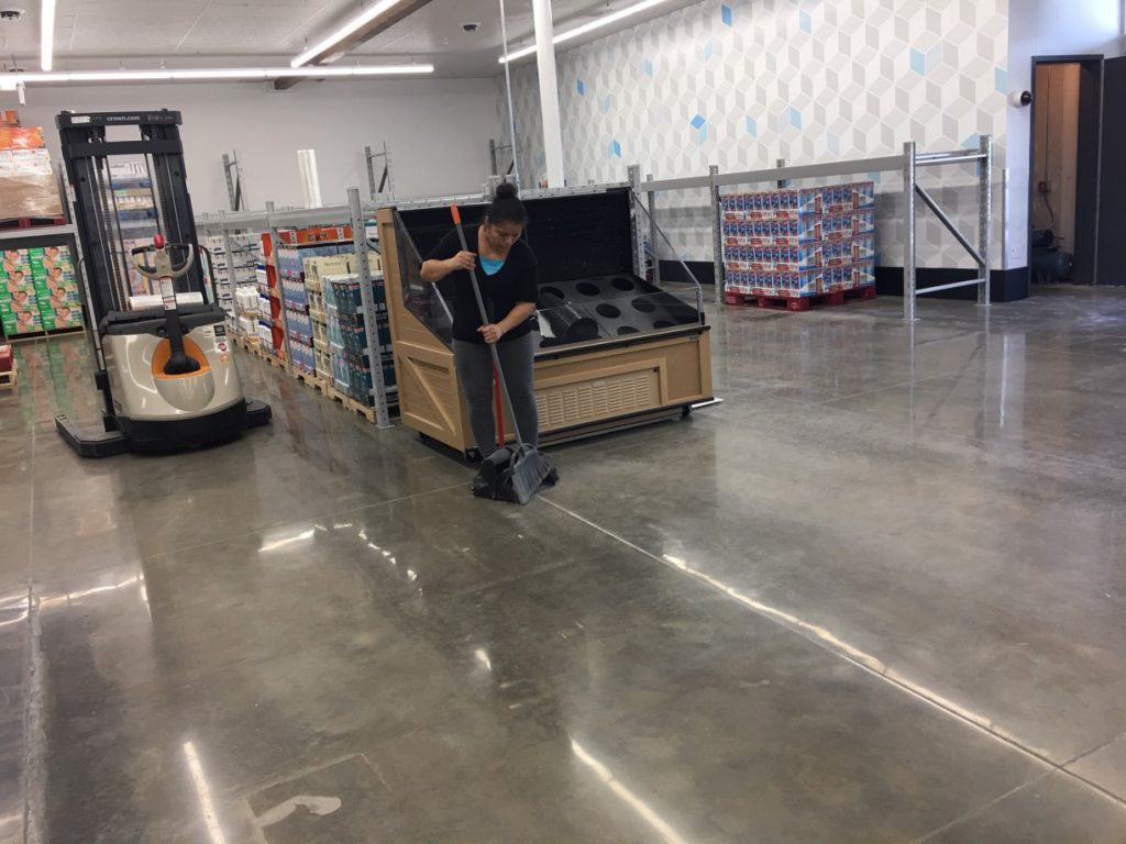 Sam's Club Store Final Post Construction Clean Up in Dallas TX 022 1024x768 Sam's Club Store Final Post Construction Clean Up in Dallas, TX