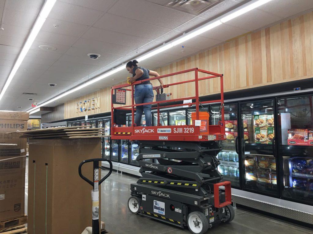 Sam's Club Store Final Post Construction Clean Up in Dallas TX 023 1024x768 Sam's Club Store Final Post Construction Clean Up in Dallas, TX