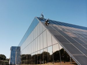 Phase 2 450000 sf. Exterior Windows Cleaning in Dallas TX 02 300x225 Commercial Window Cleaning Services