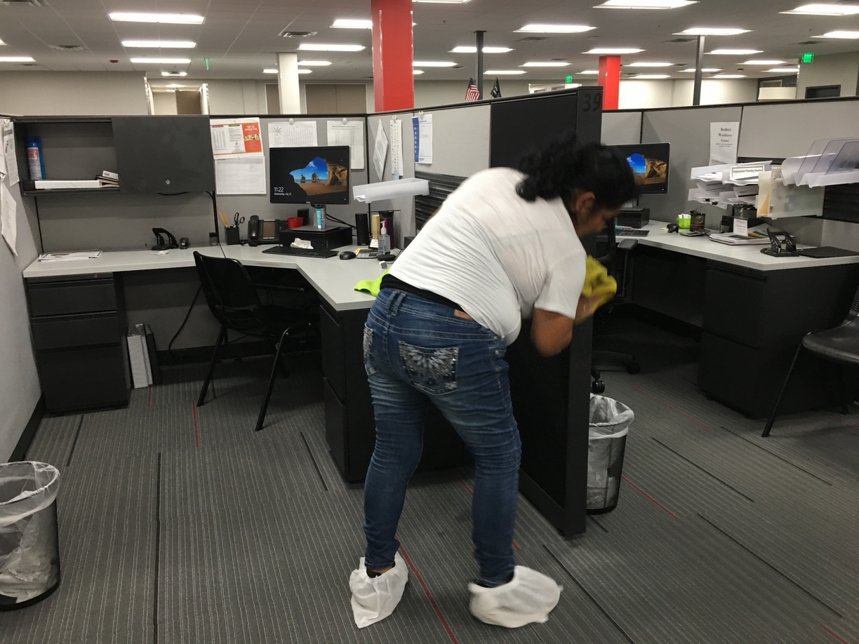 %name Workforce Solution Office Post Construction Cleaning in Dallas, TX
