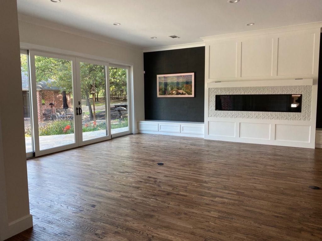 %name Large House Post Construction Cleaning in Flower Mound, TX