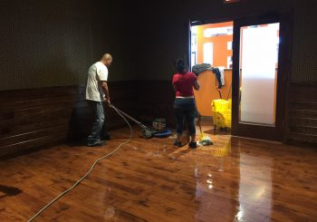 Tupinamba Café Restaurant Stripping Sealing the Floor after our Construction Cleaning 007 9f5b65cc14b821e479d3c107a3df416c 350x245 100 crop Tupinamba Café Restaurant Stripping, Sealing the Floor after our Construction Cleaning