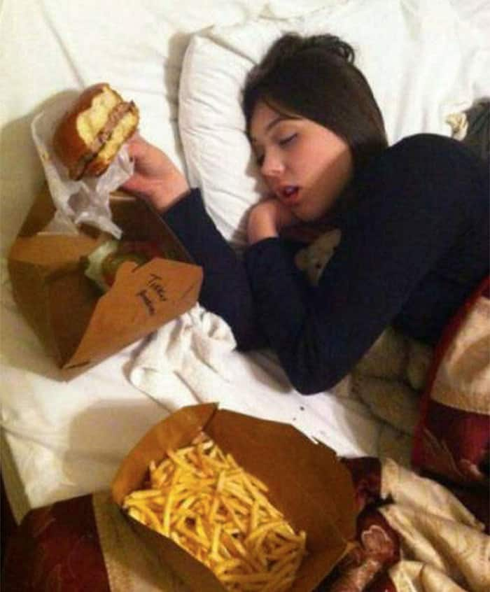 My Sister Is A Vegan. Last Night She & A Few Friends Crashed & Passed Out In My Pad. She
