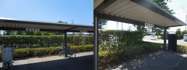花菜ガーデン駐輪場