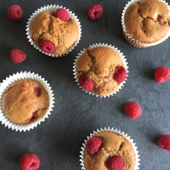 Raspberry Lemon Muffins2