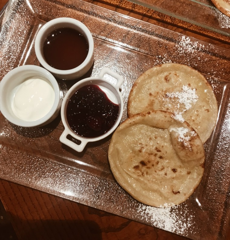 Dukes hotel bath breakfast