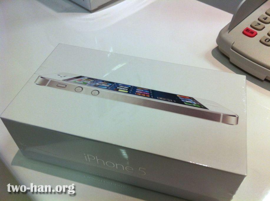iPhone5開封前