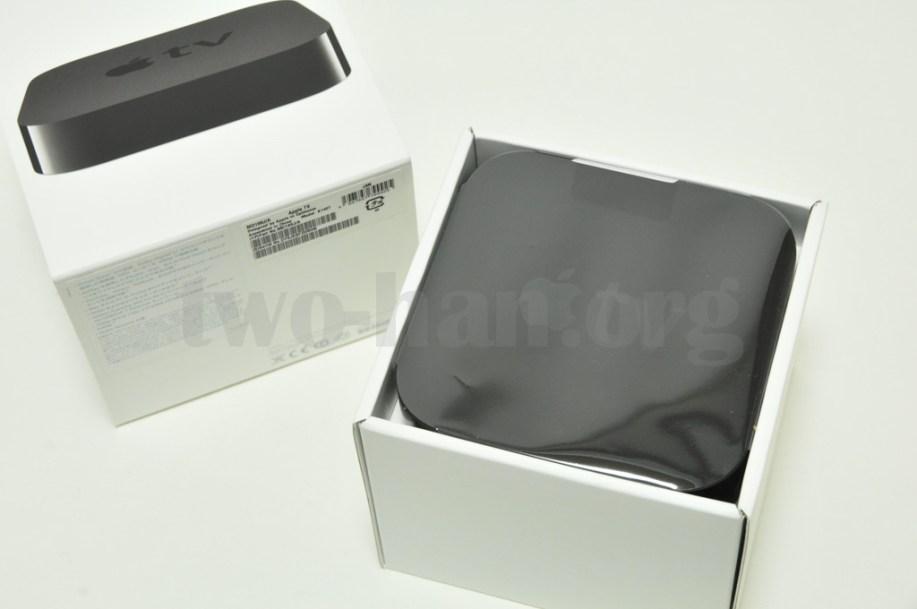 AppleTV-MD199J/開封の儀1