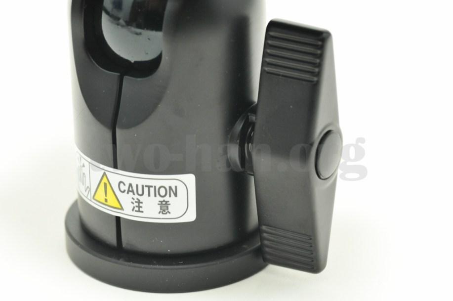 Velbon 自由雲台 クイックシュー装備 QHD-63Q/雲台ロックレバー1