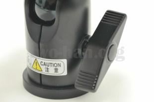 Velbon 自由雲台 クイックシュー装備 QHD-63Q/雲台ロックレバー2