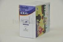芳醇ロイヤルミルクティー「ブレンディ・スティック・紅茶オレ」!パッケージがそのままケースになります!