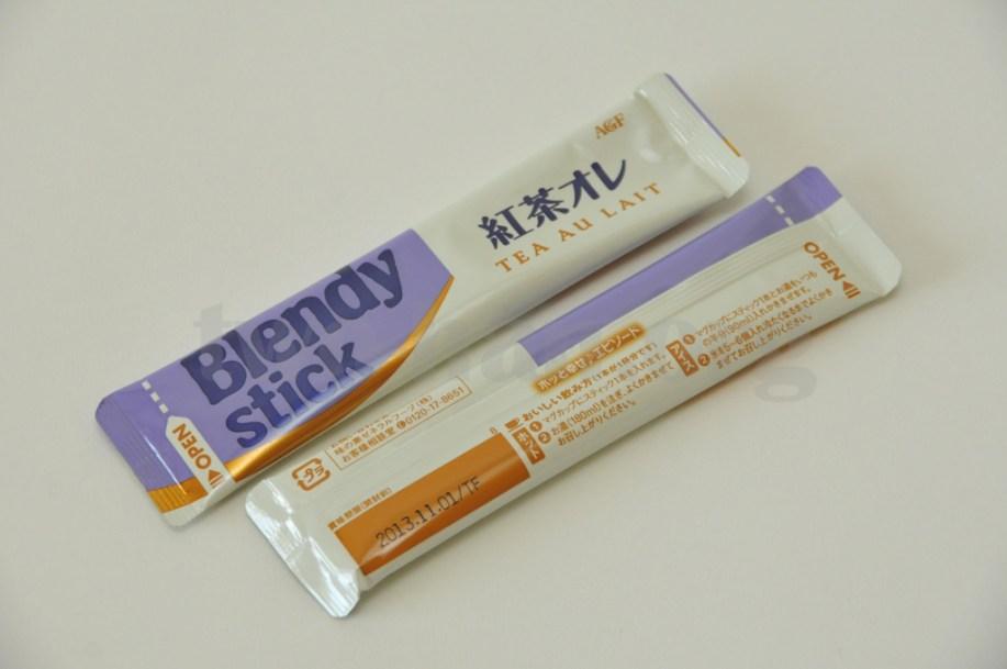 芳醇ロイヤルミルクティー「ブレンディ・スティック・紅茶オレ」!簡単便利なスティックタイプ!(^^)v