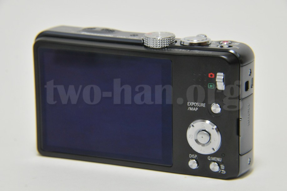 Panasonic LUMIX DMC-TZ30-K・液晶側