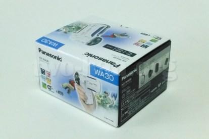 Panasonic HX-WA30・本体も小さいので箱も小さい...。