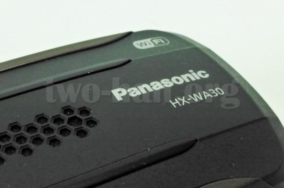 Panasonic HX-WA30・Wi-Fi