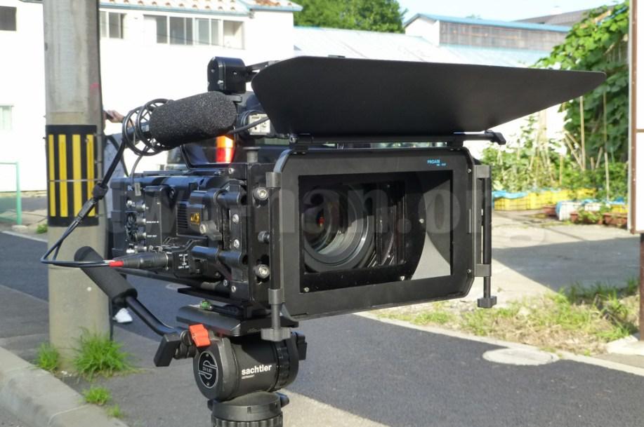 CineAlta 4Kカメラ PMW-F55にマッドボックスを組んでみました!