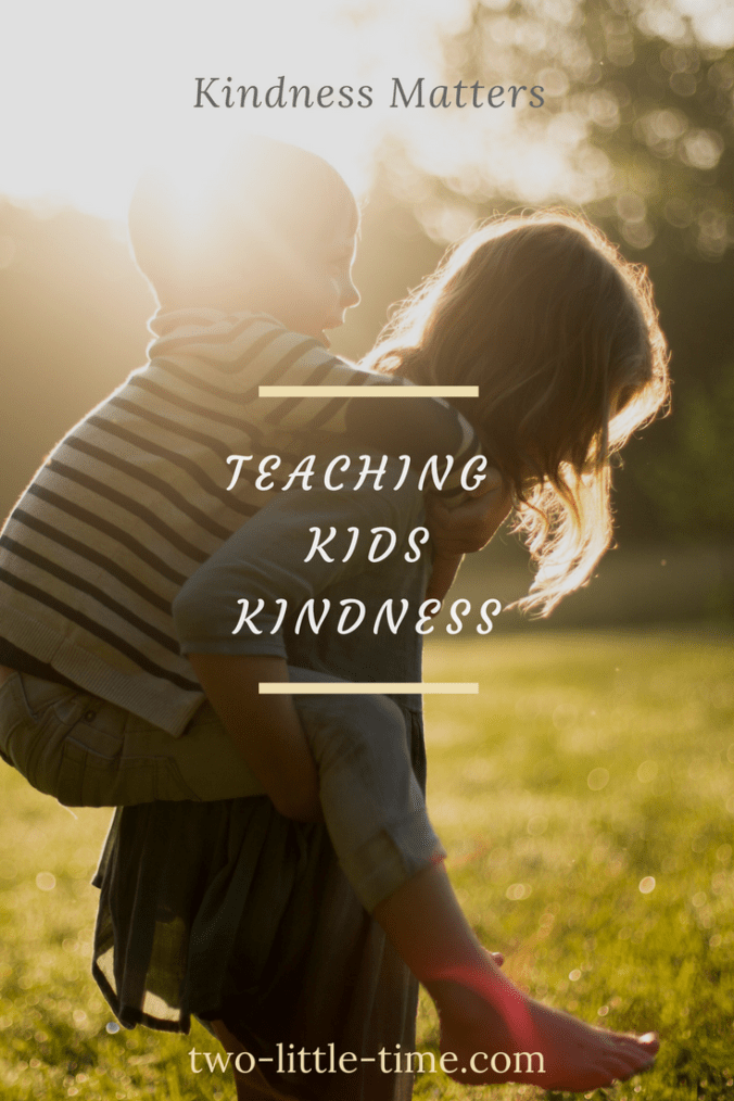 Teaching Kids Kindness