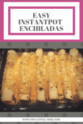 Green or Red Enchiladas