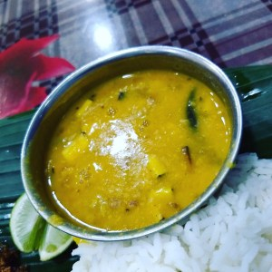 Dal with coconuts