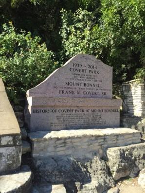 Covert Park marker