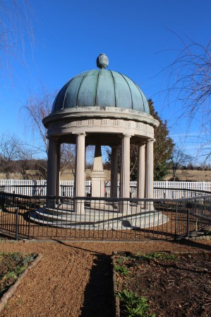 Andrew Jackson's final resting place.