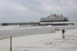 Joe's Crab Shack pier near the Daytona Beach Boardwalk.