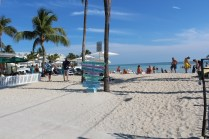 Entry to the Southernmost Beach.